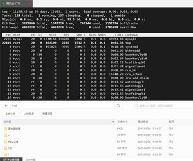 堡塔SSH终端 测试版